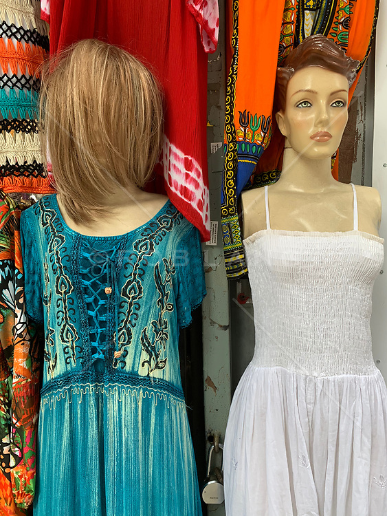 Mannequins in New York City Store Window