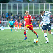 ANDORRA LA VELLA, ANDORRA. June 1.  Kylian Mbappe #10 of France scores his sides first goal during the Andorra V France 2020 European Championship Qualifying, Group H match at the Estadi Nacional d'Andorra on June 11th 2019 in Andorra (Photo by Tim Clayton/Corbis via Getty Images)