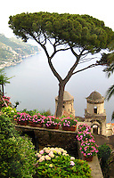 The view from Villa Rufolo, Ravello, Italy