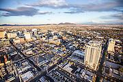 Aerial view of Las Vegas city, Nevada, USA