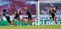 Football - 2019 / 2020 Premier League - Aston Villa vs. Chelsea<br /> <br /> Olivier Giroud of Chelsea celebrates scoring at Villa Park. <br /> <br /> <br /> COLORSPORT/LYNNE CAMERON