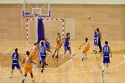 Last finals match of Slovenian 1st Women league between KK Hit Kranjska Gora and ZKK Merkur Celje, on May 14, 2009, in Arena Vitranc, Kranjska Gora, Slovenia. Merkur Celje won the third time and became Slovenian National Champion. (Photo by Vid Ponikvar / Sportida)