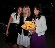 HON GRACE GOULD;  HON GEORGIA GOULD; GAIL REBUCK. The Veuve Clicquot Business Woman Of The Year Award, The Saatchi Gallery. Sloane Square. London. 28 April 2009