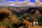 Image of Waimea Canyon State Park on Kauai, Hawaii, Hawaiian Islands