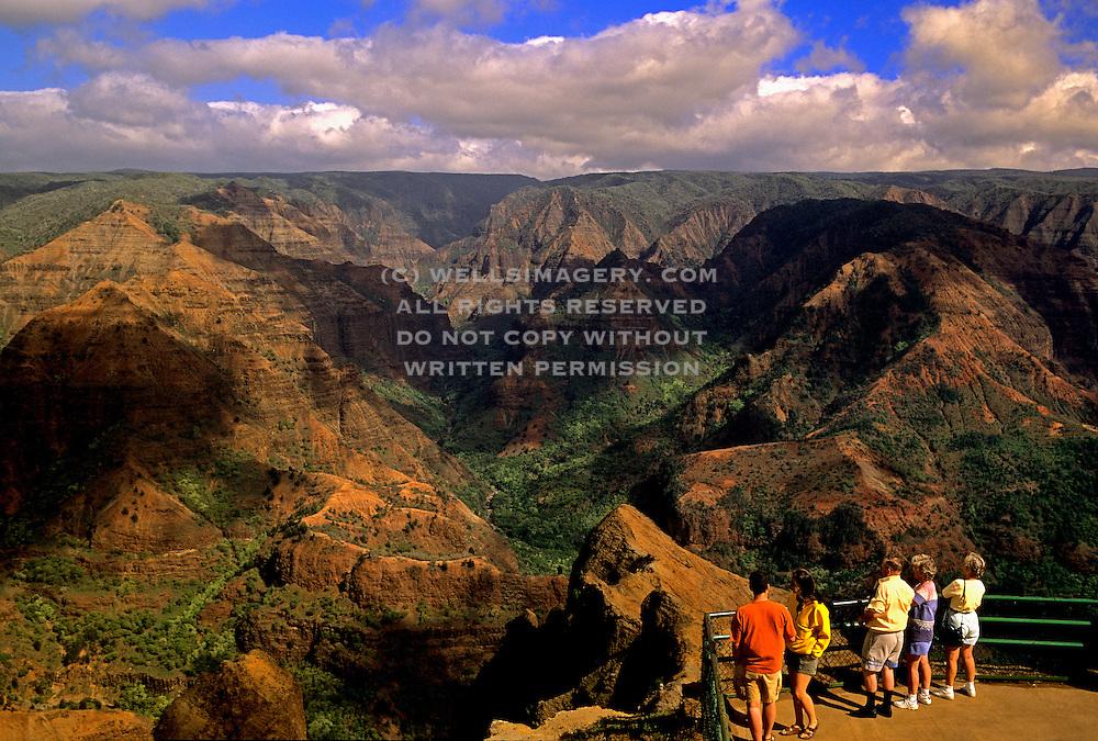 Image Of Waimea Canyon State Park On Kauai Hawaii Hawaiian Islands