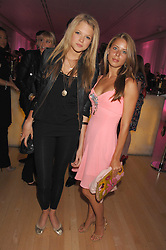 Left to right, GABRIELLA ANSTRUTHER-GOUGH-CALTHORPE and LYDIA FORTE at the Lauren-Perrier 'Pop Art' Pink Party in aid of Capital 95.8's Help A London Child, held at Suka at the Sanderson Hotel, 50 Berners Street, London W1 on 25th April 2007.<br />