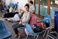 Roma 11 Luglio 2014<br /> I rom del campo rom  di Val d'Ala, al quartiere Monte Sacro, sgomberati il 9 Luglio, dalla polizia municipale di Roma, e rimasti senza  un abitazione, si sono accampati sotto alla sede del III Municipio, in attesa di una soluzione. I 39 rom, tra cui  11 minori e neonati, dormono e mangiano  per la strada, sono  assistiti dall'Associazione 21 Luglio. Un bambino dorme su due sedie<br /> Rome July 11, 2014 <br /> The Roma of Roma camp in Val d'Ala, the Monte Sacro district, evacuated July 9, by the municipal police of Rome,and remained without a home, they are camped under the seat of the Town Hall III, waiting for a solution. The 39 Roma, including 11 children and infants, sleep and they eat for the road, they are assisted by the association 21 July. A baby sleeping on two chairs