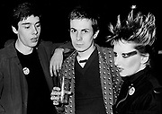 The Damned .. fans at concert 1975