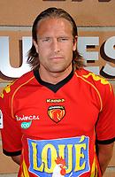 FOOTBALL - FRENCH CHAMPIONSHIP 2010/2011 - L2 - PRESENTATION LEMANS FC - 20/09/2010 - PHOTO GUY JEFFROY / DPPI - THORSTEIN HELSTAD