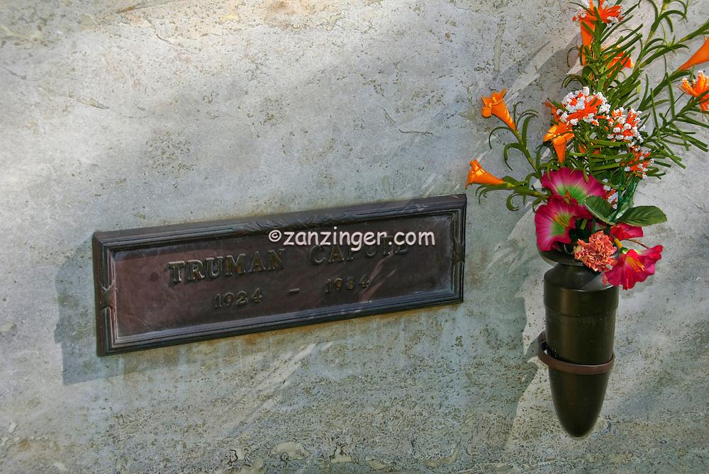 Truman Capote Grave Westwood Memorial Park, Westwood Village Memorial Park celebrity, graves