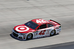 June 2, 2017 - Dover, DE, United States of America - June 02, 2017 - Dover, DE, USA: Kyle Larson (42) takes to the track to practice for the AAA 400 Drive for Autism at Dover International Speedway in Dover, DE. (Credit Image: © Justin R. Noe Asp Inc/ASP via ZUMA Wire)