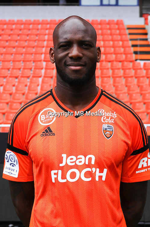 Michael Ciani during the Fc Lorient photocall for the season 2016/2017 in Lorient on September 16th 2016<br /> Photo : Philippe Le Brech / Icon Sport