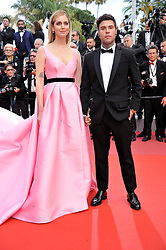 "71st Cannes Film Festival 2018,Red carpet film ""Le Grand Bain. 13 May 2018 Pictured: 1st Cannes Film Festival 2018,Red carpet film ""Le Grand Bain""Chiara Ferragni and Fedez. Photo credit: Pongo / MEGA TheMegaAgency.com +1 888 505 6342"