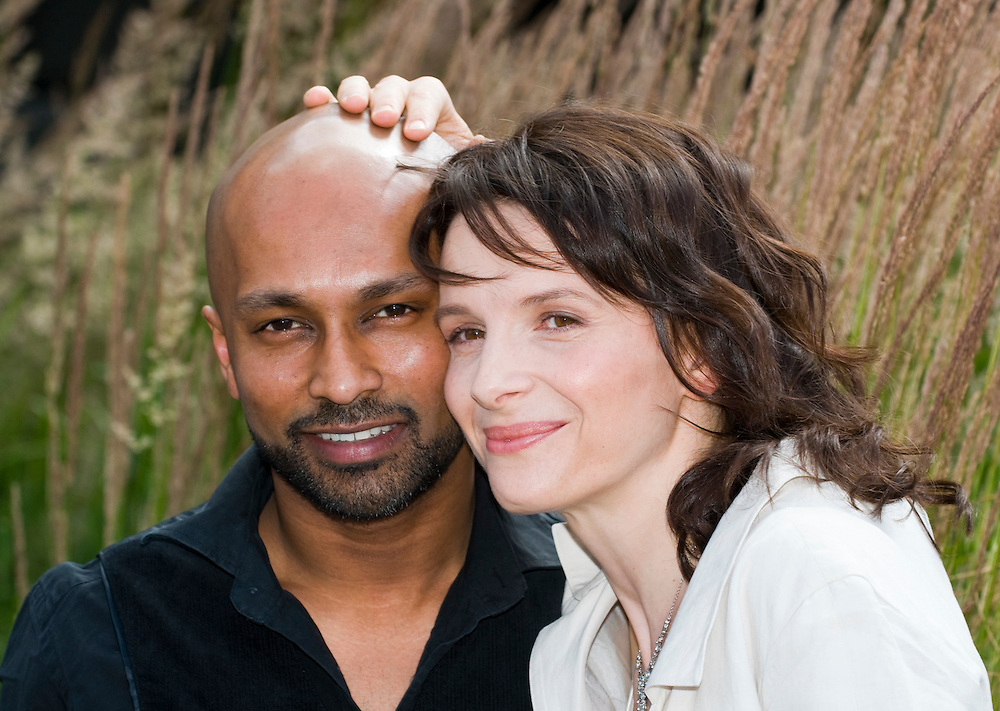 .LONDON - JULY 04: Juliette Binoche and Akram Khan attend the launch of In-I at the National Theatre on July 4, 2008 in London, England.