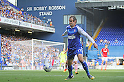 Ipswich Town forward Brett Pitmanduring the EFL Sky Bet Championship match between Ipswich Town and Barnsley at Portman Road, Ipswich, England on 6 August 2016. Photo by Nigel Cole.