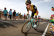Steven Kruijswijk (NED - Team LottoNL - Jumbo), during the UCI World Tour, Tour of Spain (Vuelta) 2018, Stage 9, Talavera de la Reina - La Covatilla 200,8 km in Spain, on September 3rd, 2018 - Photo luca Bettini / BettiniPhoto / ProSportsImages / DPPI