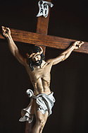 The crucifix on Wednesday, May 13, 2020, at Trinity Lutheran Church, Millstadt, Ill. LCMS Communications/Erik M. Lunsford
