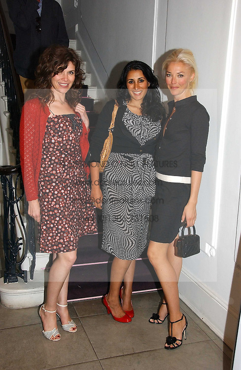 Left to right, JESSICA MORRIS, SERENA REES and TAMARA BECKWITH at the Peta (People for the Ethical Treatment of Animals) Humanitarian Awards held at Stella McCartney, 30 Bruton Street, London W1 on 28th June 2006.<br /><br />NON EXCLUSIVE - WORLD RIGHTS