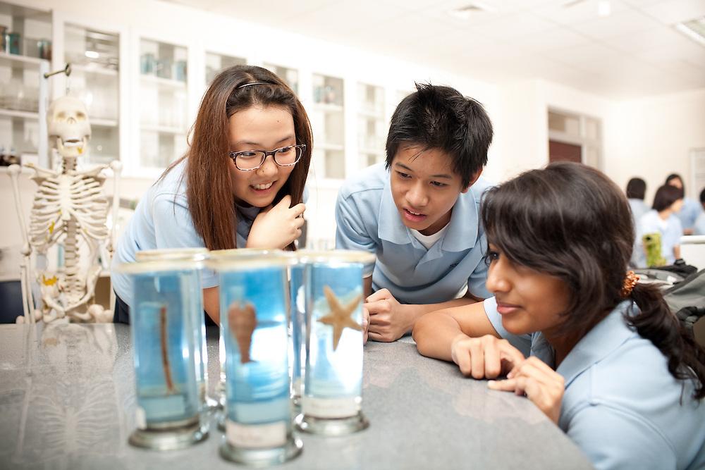 at Saigon South International School, Vietnam