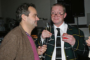 MARK HIX AND FERGUS HENDERSON, Meeting of Minds in aid of the Parkinson's Appeal for Deep Brain Stimulation at Christie's. Party afterwards at St. John restaurant. 16 October 2007.  -DO NOT ARCHIVE-© Copyright Photograph by Dafydd Jones. 248 Clapham Rd. London SW9 0PZ. Tel 0207 820 0771. www.dafjones.com.