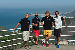 August 2014 Swiss Sailing Team in Rio for the Olympic Test event