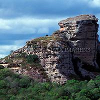 Pedra do Segredo, Cacapava do Sul, Rio Grande do Sul, Brasil, 01/12/1998 foto de Ze Paiva/Vista Imagens
