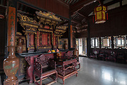 Interior of the Zhu Family house, Jianshui Ancient Town, Yunnan Province, China
