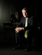 Simon Property CFO Simon Sterrett poses for a portrait in the company's Indianapolis headquarters Wednesday, Jan. 24, 2007.