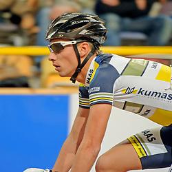 20141229- NK baan: baanwielrennen; Apeldoorn; Tim van der Poel