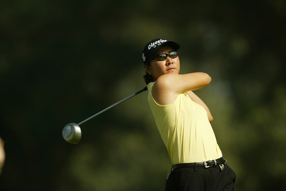 Candie Kung..2004 Kraft Nabisco Championship.MIssion Hills CC.Rancho Mirage, CA .First Round.Thursday, March 25 2004..photograph by Darren Carroll
