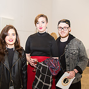 23.03.16<br /> LSAD are delighted to host SYMBOLS: Culture of Death and Cultural Life, a Creative Europe Project under the European Commission. <br /> <br /> Attending the exhibition were, Caoimhe Dowling, MJ O'Sullivan and Gregor Pituch.<br /> <br /> LSAD are one of the seven partners in this Creative Europe project which is running from 2014-2016. This exhibition will feature work from international printmakers, dancers and musicians from 7 European countries. This show embraces not only the work created by these artists during two residencies responding to the theme of symbols, one in Aviles, Spain and one in Dundee Scotland and includes work by Limerick artists, musicians and dancers, Gemma Dardis, Mary O'Dea, Jennifer Brown and Hannah Fahey, but also offers a response by the students of the printmaking department in LSAD to the historic Limerick cemeteries of Mount St. Lawrence and St. John's. The students created an exciting and thought provoking body of work which is showing along side these international artists. Picture: Alan Place/Fusionshooters