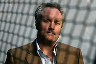 ANDREW BREITBART, internet entrepreneur, at his home in Los Angeles.