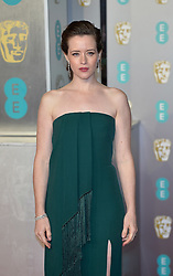 Stars at the 72nd British Academy Film Awards (BAFTAs) held at Albert Hall on February 10, 2019 in London, United Kingdom. 10 Feb 2019 Pictured: Claire Foy. Photo credit: imageSPACE / MEGA TheMegaAgency.com +1 888 505 6342