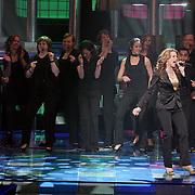 NLD/Hilversum/20080301 - Finale Idols 2008, optreden winnares Nikkie