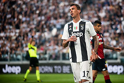 October 20, 2018 - Turin, Piedmont, Italy - Mario Mandzukic of Juventus during the Serie A match between Juventus and Genoa at the Allianz Stadium, the final score was 1-1 in Turin, Italy on 20 October 2018. (Credit Image: © Alberto Gandolfo/Pacific Press via ZUMA Wire)