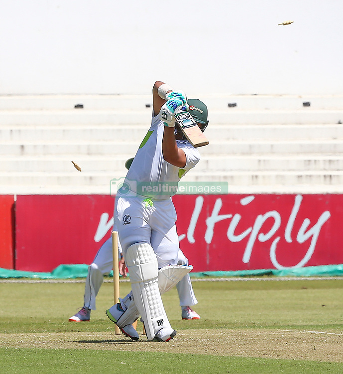 Durban. 221018.  Gihahn Cloete during day 1 of the 4 Day Franchise Series match between Hollywoodbets Dolphins and Warriors at Kingsmead Cricket Ground on October 22, 2018 in Durban, South Africa. Picture Leon Lestrade. African News Agency. ( ANA ).