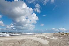Schiermonnikoog, Strand Noordzee, Fryslan, Netherlands
