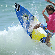 Sunday July 13, 2014 during the 9th Annual O'Neil/Sweetwater Pro-Am Surf Fest at Wrightsville Beach, N.C. (Jason A. Frizzelle)