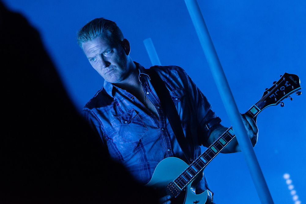Queen of the Stone Age's Josh Homme on stage during Northside Festival 2018 in Aarhus, Denmark