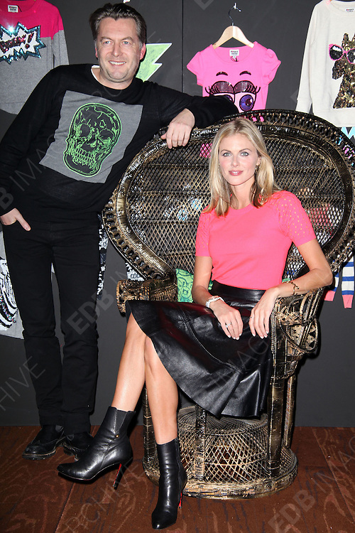 21.NOVEMBER.2012. LONDON<br /> <br /> DONNA AIR LAUNCHES HER NEW GIRLSWEAR COLLABORATION WITH DESIGNER TO THE STARS MARKUS LUPFER FOR DEBENHAMS<br /> <br /> BYLINE: EDBIMAGEARCHIVE.CO.UK<br /> <br /> *THIS IMAGE IS STRICTLY FOR UK NEWSPAPERS AND MAGAZINES ONLY*<br /> *FOR WORLD WIDE SALES AND WEB USE PLEASE CONTACT EDBIMAGEARCHIVE - 0208 954 5968*