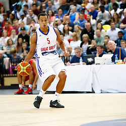 GB men vs Puerto Rico basketball at the Copper Box Arena. Andrew Lawrence (05).11/08/2013 (c) MATT BRISTOW