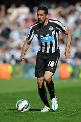 Newcastle United's Jonas Gutierrez - Photo mandatory by-line: Dougie Allward/JMP - Mobile: 07966 386802 - 16/05/2015 - SPORT - football - London - Loftus Road - QPR v Newcastle United - Barclays Premier League