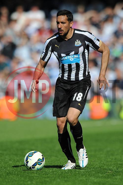 Newcastle United's Jonas Gutierrez - Photo mandatory by-line: Dougie Allward/JMP - Mobile: 07966 386802 - 16/05/2015 - SPORT - football - London - Loftus Road - QPR v Newcastle United - Barclays Premier League