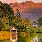 Boathouse, Rydal Lake, Cumbria