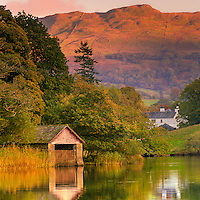 Boathouse, Rydal Lake, Cumbria