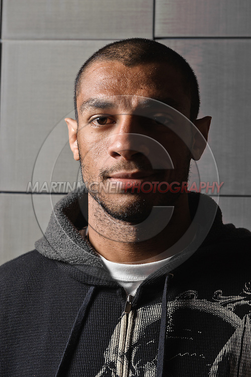 """A portrait of mixed martial arts athlete Roan """"Jucao"""" Carneiro"""