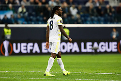 February 21, 2019 - Saint Petersburg, Russia - Victor Moses of Fenerbahce SK looks on during the UEFA Europa League Round of 32 second leg match between FC Zenit Saint Petersburg and Fenerbahce SK on February 21, 2019 at Saint Petersburg Stadium in Saint Petersburg, Russia. (Credit Image: © Mike Kireev/NurPhoto via ZUMA Press)