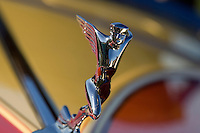 PEBBLE BEACH, CA - AUGUST 19: The hood ornament of a 1933 Auburn 12-16A Speedster at the 2007 Pebble Beach Concours d'Elegance on August 19, 2007 in Pebble Beach, California.  (Photo by David Paul Morris)