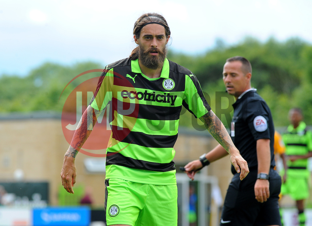Rob Sinclair of Forest Green Rovers - Mandatory by-line: Nizaam Jones/ JMP - 30/07/2016 - FOOTBALL - The New Lawn- Nailsworth, England - Forest Green Rovers v Newport County - Pre-season friendly