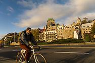 Canada. Quebec. the vieux Quebec, old city, .old port area   / la vielle ville . quartier du vieux port
